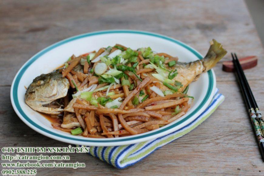 Hướng dẫn chế biến món ngon từ cá chim trắng